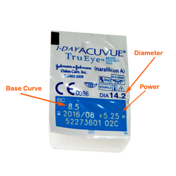 1 Day ACUVUE TruEye - 90 Lenses