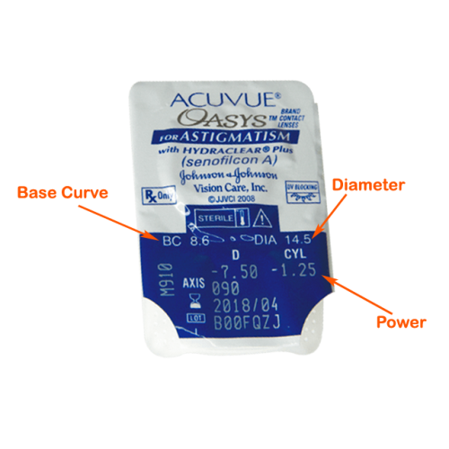 ACUVUE OASYS for Astigmatism 6pack