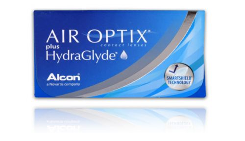 Air Optix plus HydraGlyde 3 lenses