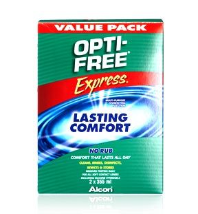 Opti Free Express Value Pack