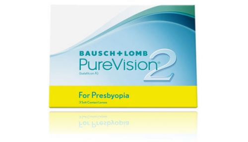 Purevision2 Presbyopia 3 Pack Monthly Lenses