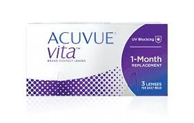 Acuvue Vita 3 Lenses With HydraMax Technology
